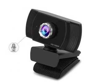 Top Quality Wholesale For online school and meetings Webcam Camera,Full HD 1080p big lens Webcam webcamera