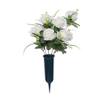Decorative Flowers Wreaths Flower Artificial Cemetery Artificial Cemetery Flower