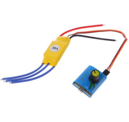 Brushless Motor Controller for DC12V 30A High-Power brushless motor speed controller DC 3-phase Regulator PWM