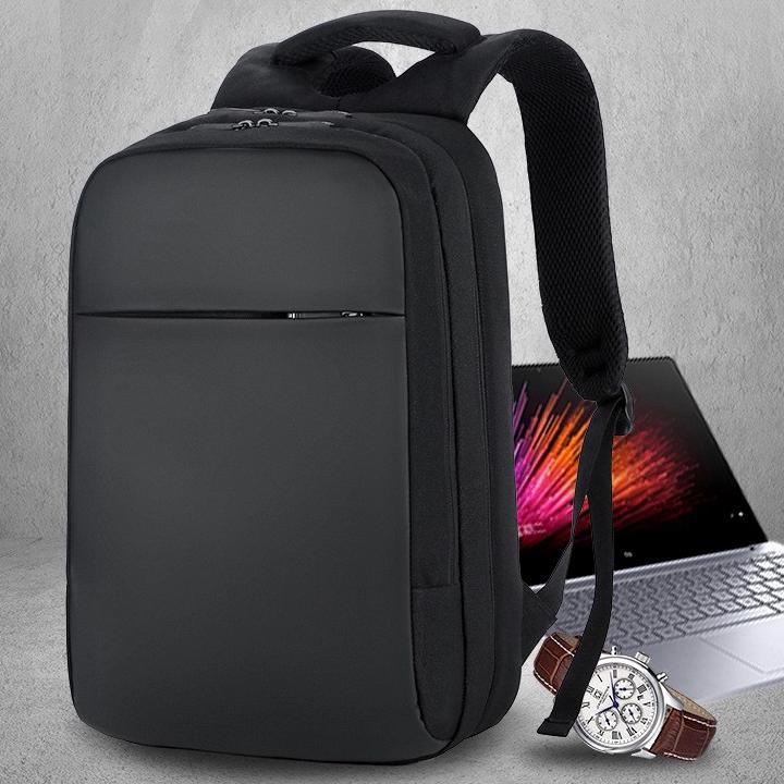 חדש מותאם אישית לוגו מחשב נייד תרמיל פנאי עסקי מחשב נייד תרמיל 15.6 אינץ USB טעינה שקיות