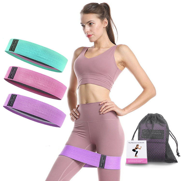 Resistance Band, Natural Latex Exercise Training Bands Set of 3 Stretchable Bands Pull up Assistance Resistance Loop Bands