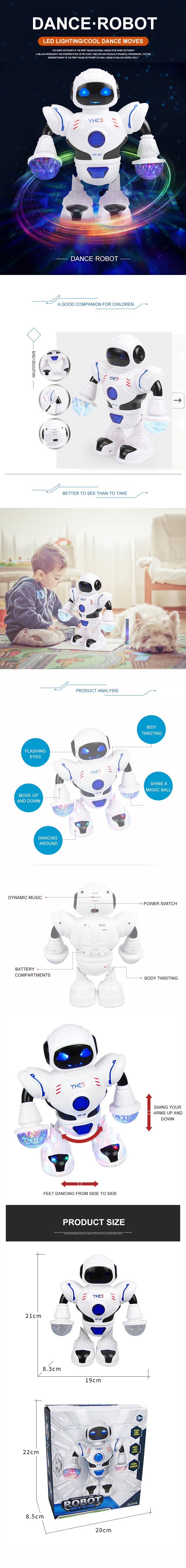 Intelligent robot toy robots dancing toy for kids robot toy