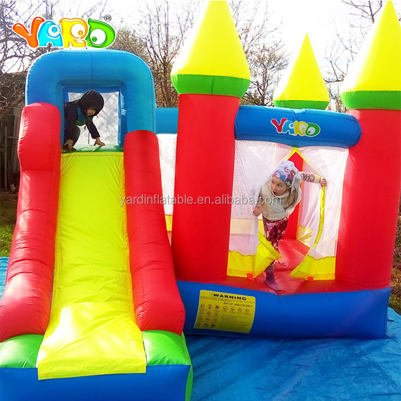 YARD Hot Selling Playground Inflatable Bouncy Castle Bounce House With Slide