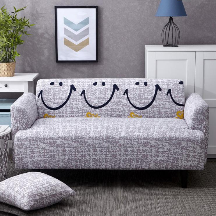 Đàn Hồi Spandex Bọc Ghế Sofa Bọc Chặt Chẽ Tất Cả Bao Gồm Áo Phủ Ghế Trường Kỷ Cho Phòng Khách Vải Bọc Ghế Sofa Co Giãn
