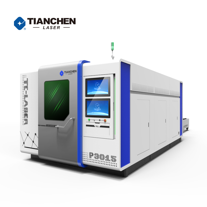 Exchange Table Full Enclosure Fiber Laser Cutting Machine with good price in China