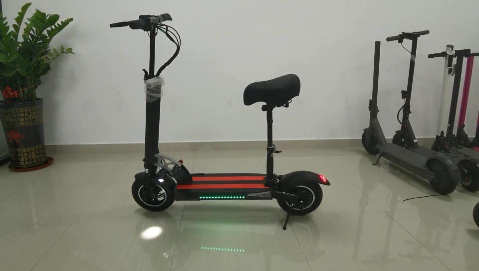 الجملة الدهون الإطارات الدراجات الإلكترونية طويلة المدى 10 بوصة 36v 48v 500w 800w 1000w دراجة بخارية صغيرة كهربائية قابلة للطي مع مقاعد للكبار 80 كجم