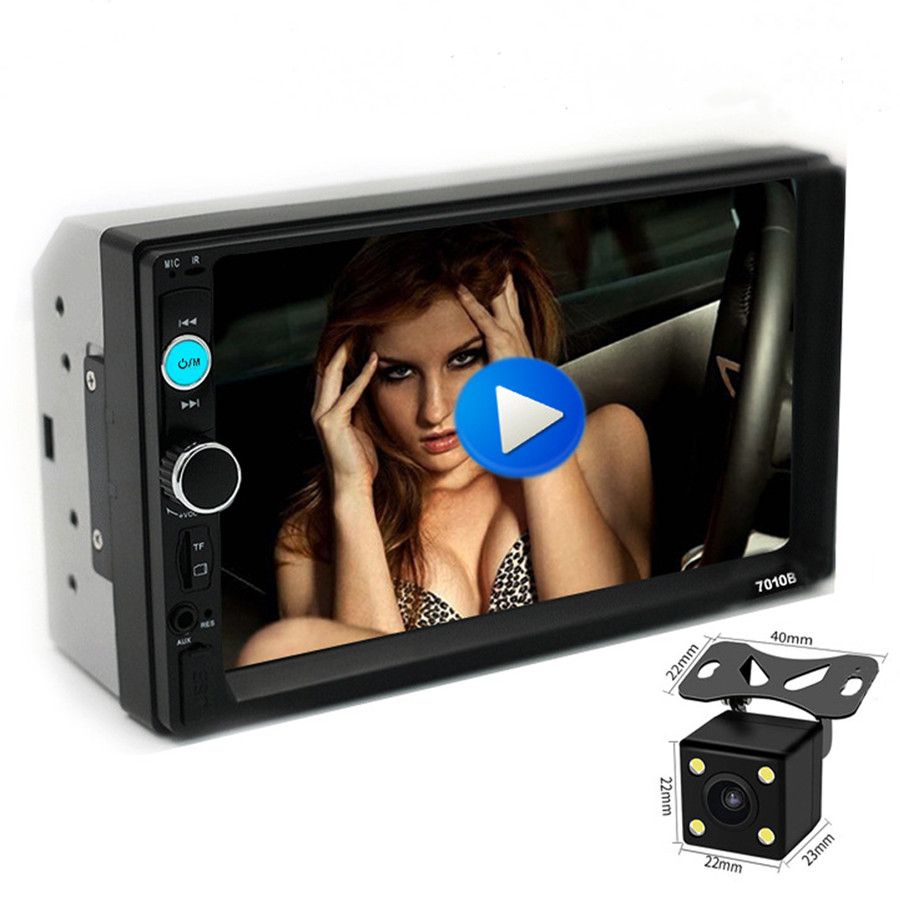 7 pollici in-car DVD audio player Wince sistema con WiFi