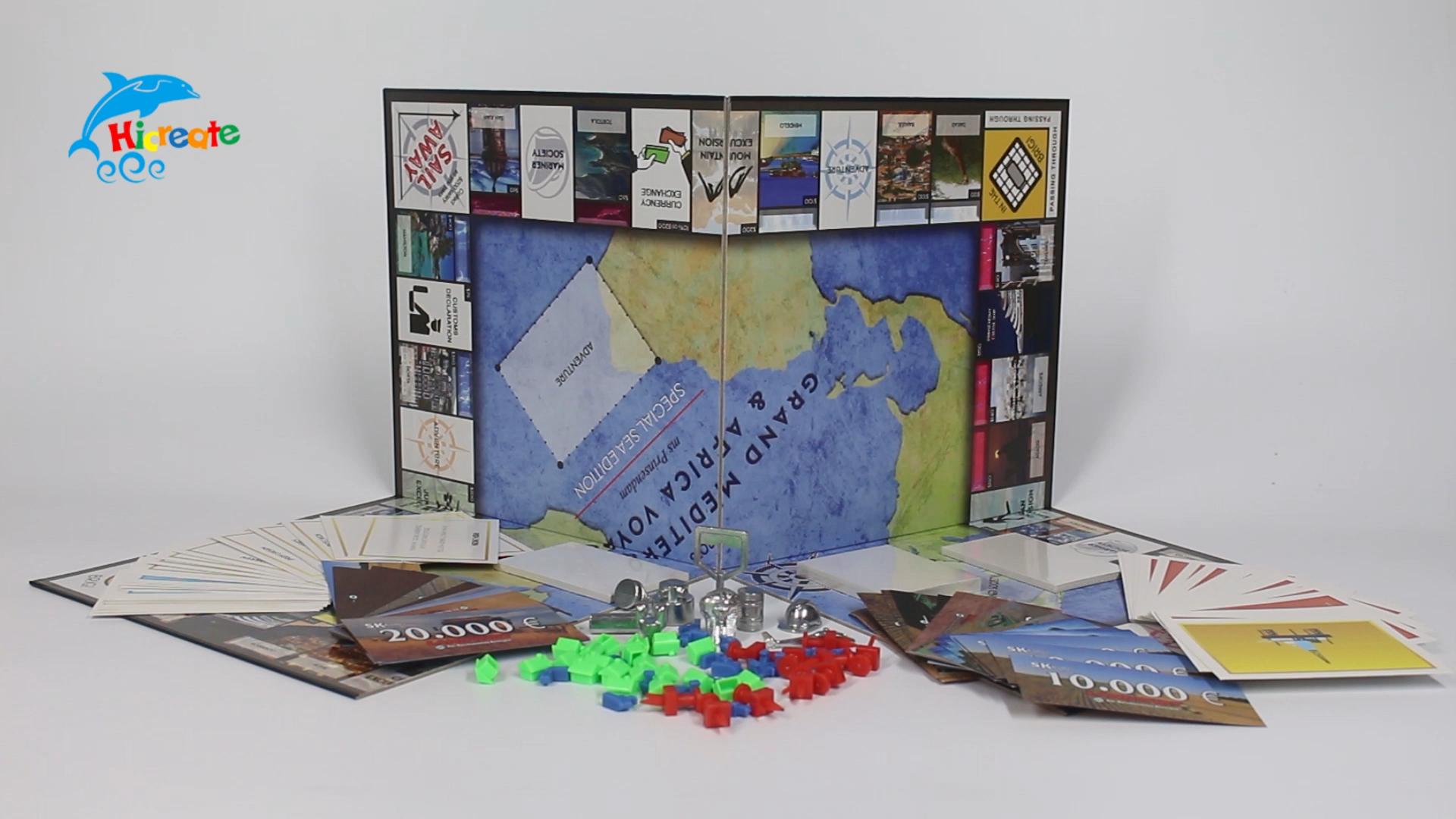 Hochwertiger Game Board Maker Custom Printing Custom Printing Brettspiel Maker