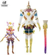 ROLECOS престиж Neeko косплей костюм звезда Хранитель LOL игровой костюм для косплея Для Neeko женские сексуальные юбки Хэллоуин(Китай)