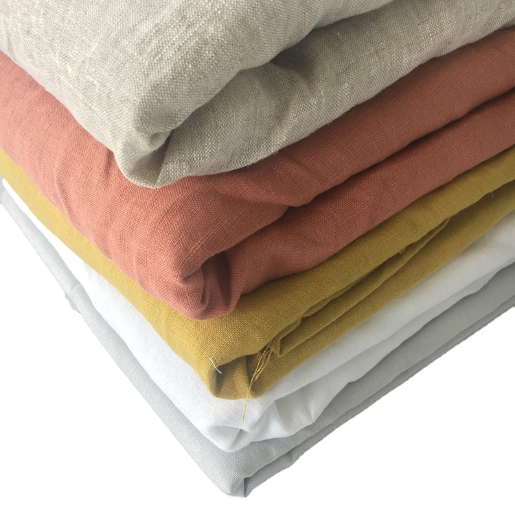 100% linen fabric,2 Meters, Customized color