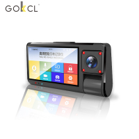 LCD Mstar 2019 Full hd 1080P car black box 3.0 IPS screen gps wifi dash cam 145 degree car driving recorder wirh sony 323 CMOS