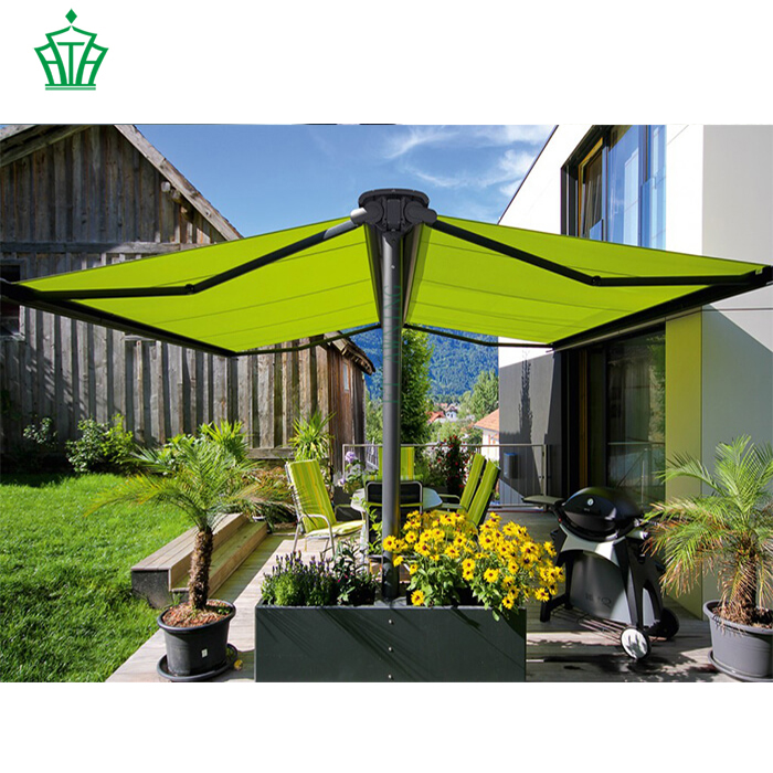 Garden 2 Side Folding Awning With Side