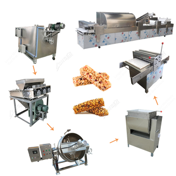 Wholesale Price Industrial Popular Snacks Forming Machine/ Cereal Bar Production Line Price