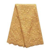 Африканская кружевная ткань 2020 высокое качество с камнями синий белый нигерийский кружевной ткани для свадьбы последний французский чиста...(Китай)