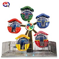 Amusement park equipment rides games products electrical mini ferris wheel