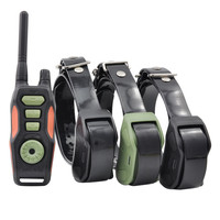 Anti Bark Training Collar 880 Yards Remote Dog Shock Collar with Beep Vibrating Electric Shock Trainer Collar For Three dogs.