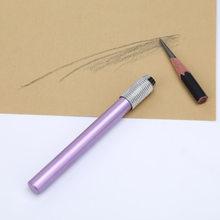 Металлическая односпиральная кисть для захвата ручки, расширитель для карандаша, художественные мелки, удлиненная перьевая ручка, Совреме...(Китай)