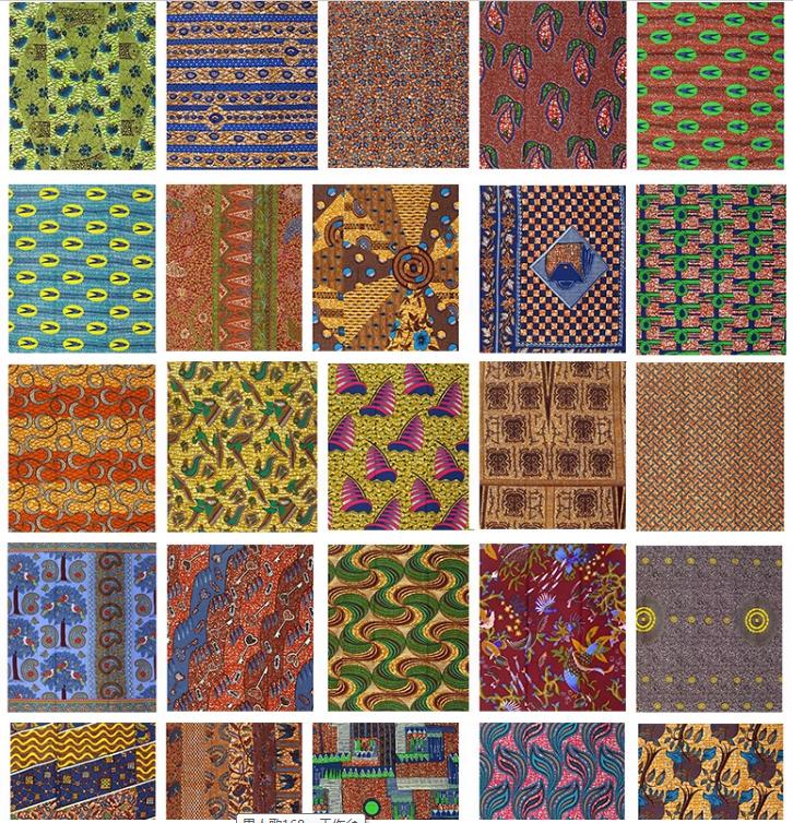 कस्टम डिजाइन 6 गज की दूरी पर अंकारा हॉलैंड सामग्री सुपर अफ्रीकी मोम प्रिंट कपड़े