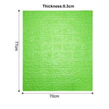 12 шт. самоклеющиеся обои пилинг и палка 3D стеновые панели для гостиной кирпичные наклейки для спальни детская комната кирпичные бумаги дома...(Китай)