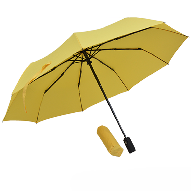 21 Inch X 9 K Pongee Fabric Umbrella Auto Open Folding Umbrella Parts