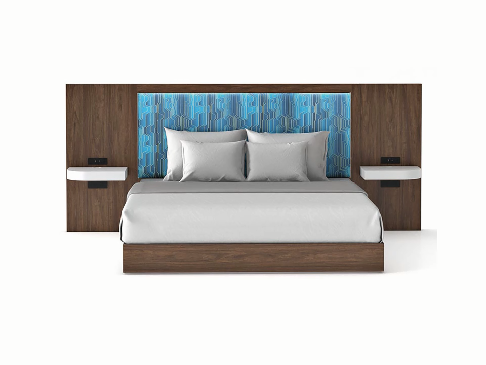 Custom Hotel Furniture Hampton Innโรงแรมเฟอร์นิเจอร์ชุดห้องนอน