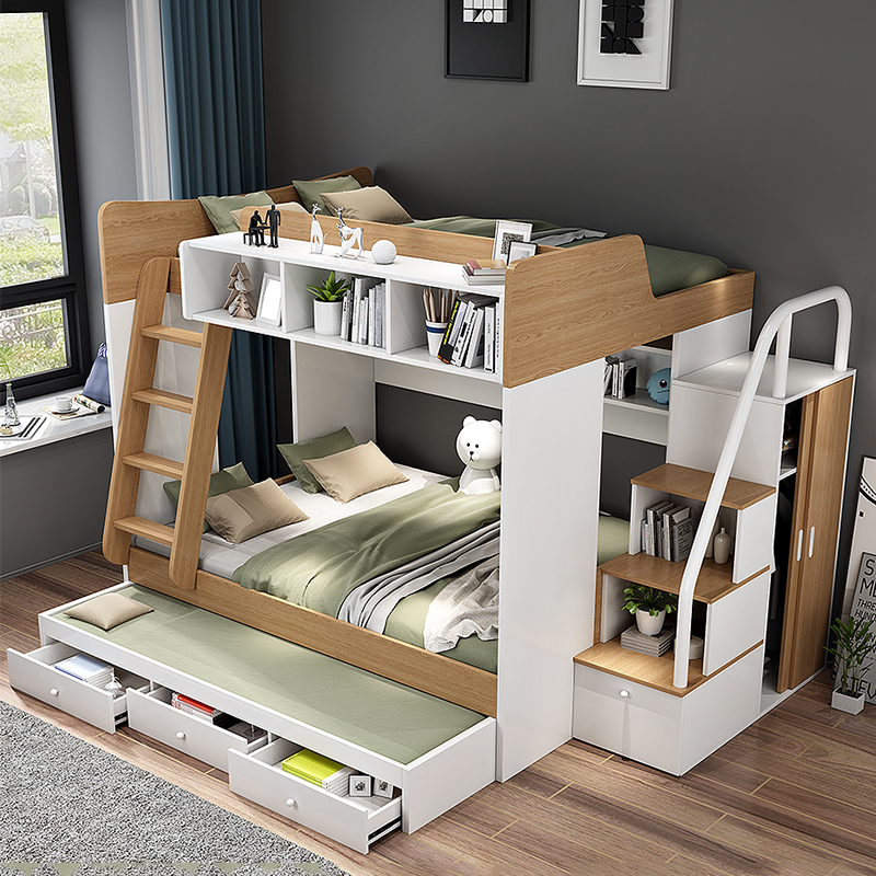 Hdf Children Furniture Sets Kids Bunk Beds Children+beds - Buy Bed