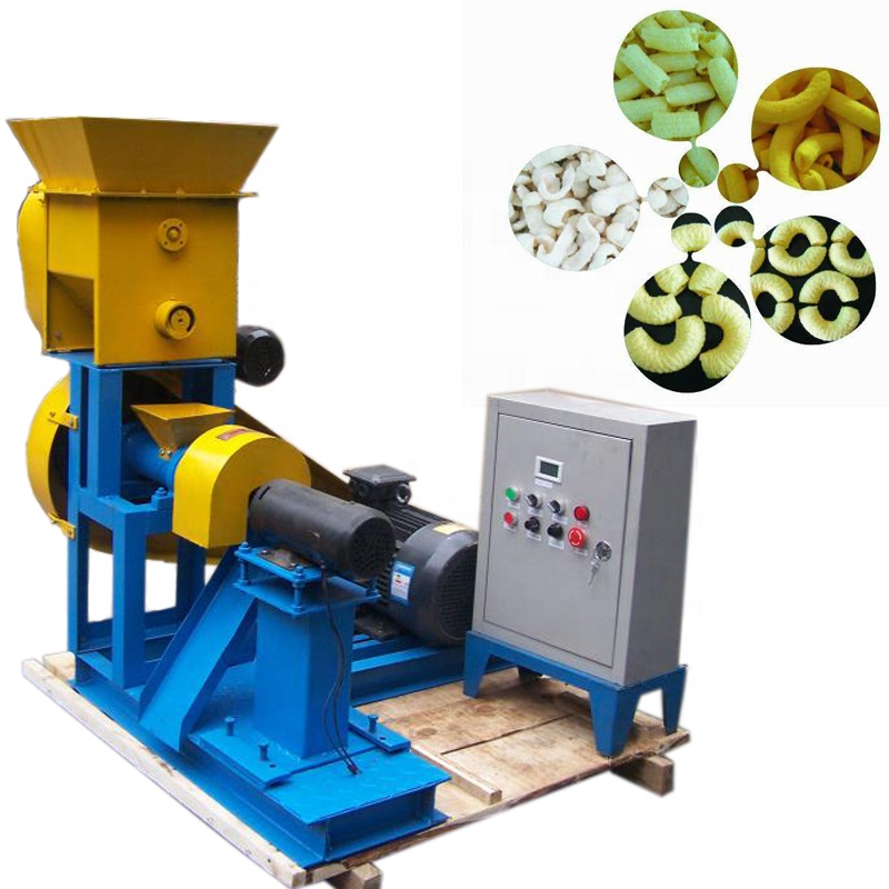 Puff Snacks Maschine/mini mais schnaufend maschine/snack extruder
