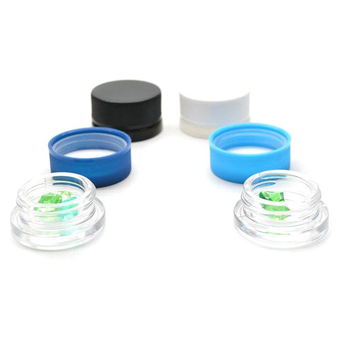 3ml 5ml 7ml 9ml Glass Storage Jar with Child Proof Cap