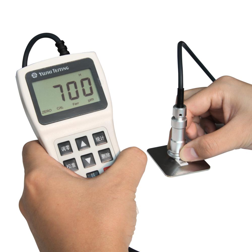 Digital espesor de recubrimiento de instrumento de medición portátil de espesor de recubrimiento/medidor probador