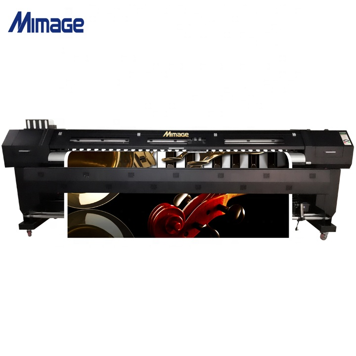 HOT sale 3.2m 126'' width 3000W two DX5 Heads sublimation eco solvent printer for transfer textile with roller transfer machine