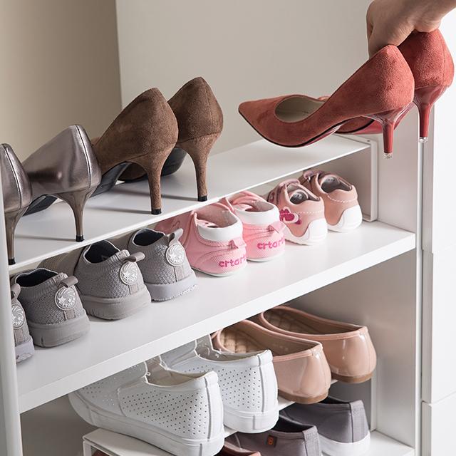 SHIMOYAMA High Quality Wholesale Scalable Storage Stand Rack Shoe Organizer