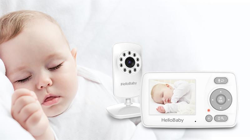 Videotimes 2.4 inch radio video baby camera twoway talkback Baby Monitors