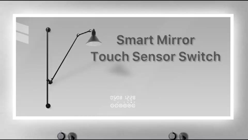 Spiegel Touch Dimmer Schalter LED Spiegel Licht Touch Sensor Schalter für Home Hotel Schrank LED Licht Make-Up Spiegel
