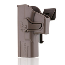 Тактическая кобура Amomax для Glock 19/23/32 ISSC M22 Series ICS BLE-XAE Series-Левая Рука черная (только стандарт)(Китай)