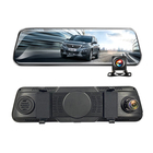 9.66 Inch Touch Screen Car Black Box Dual Lens Automobile Video Recorder 1080P Dash Cam Rearview Mirror Car Camera