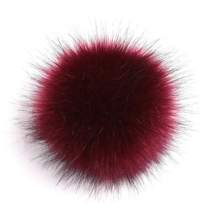 Cheap China Factory Natural Jewelry Accessories Real <strong>Fox</strong> <strong>Fur</strong> Pompom