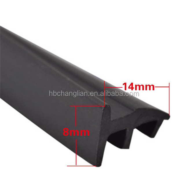 EPDM extrusion solar panel T rubber gasket seal