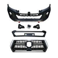 Factory wholesale exterior accessories full set body kit bumper for toyota hilux revo vigo