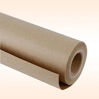 "Brown butcher paper roll 18"" X 175' (2100'') food grade FDA approved, unwaxed, uncoated and unbleached"
