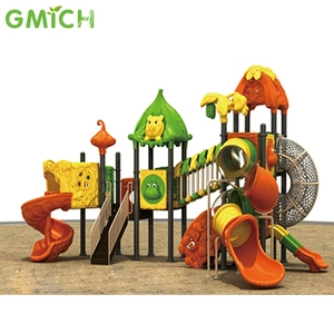 china supplier school child toy big slide funny playground