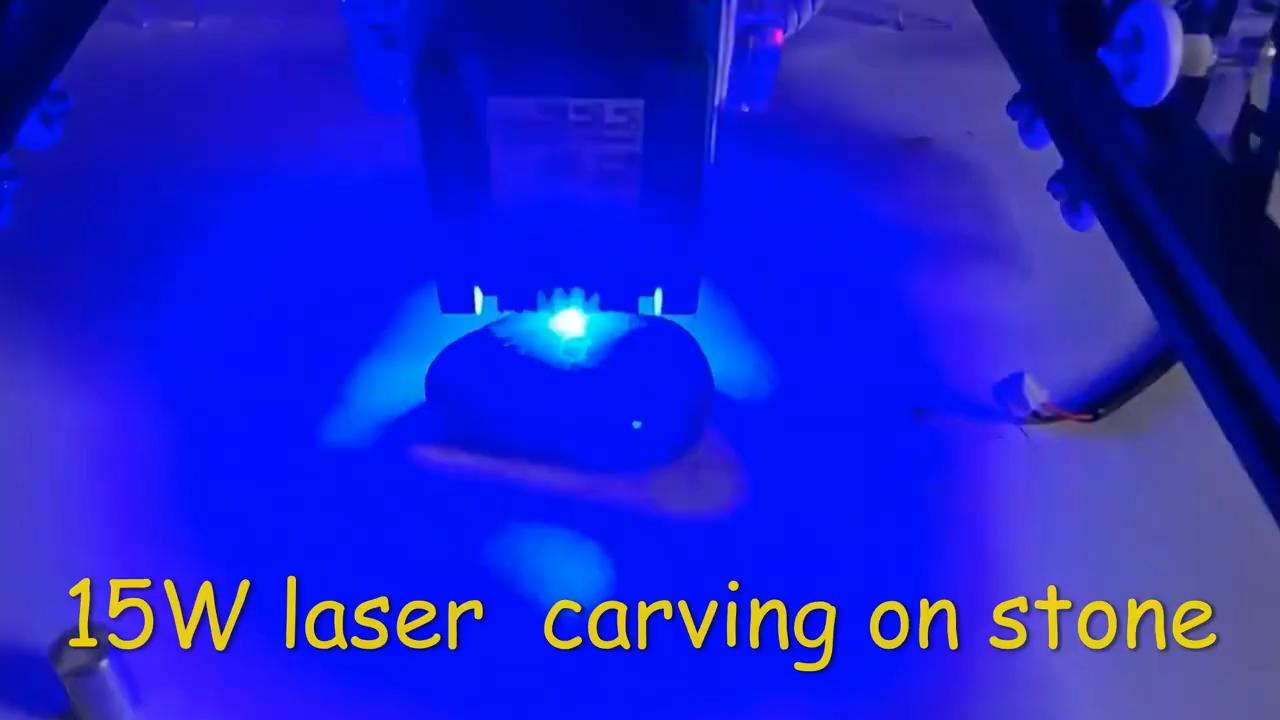 5,5 W 15W DIY 2 Achse Mini CNC Laser Stecher 4545 Gravur Holz Arbeits Schneiden Maschine