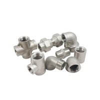 100mm Diameter Stainless steel pipe socket threaded union fitting 316 ss male female street elbow