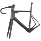 All inner cable carbon fiber T800 mechanical and DI2 compatible BB386 Disc brake carbon road frame TT-X12