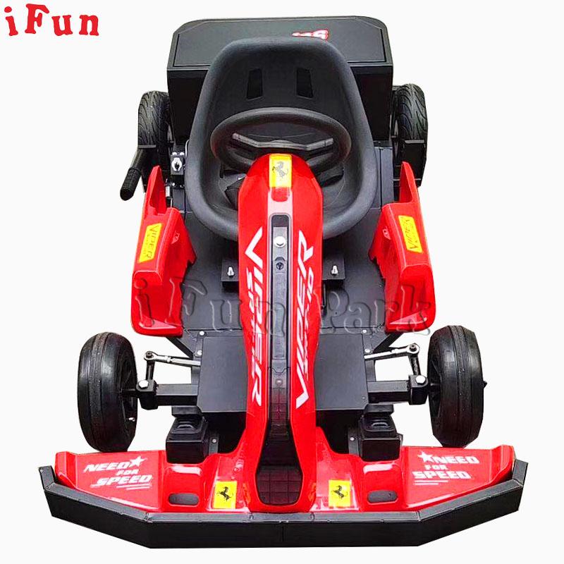 Toptan elektrikli Go Kart hız ayarlanabilir sürüklenen tampon araba eğlence parkı Kiddie satılık sürmek