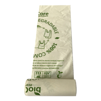 100% Compostable Organic Plastic Small Eco Friendly Garbage Bags Trash