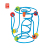 Spring-a-Ling Popular happy Kid intelligent game Educational Wooden Learning Maze Toys For Children