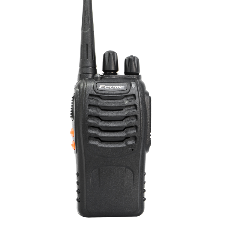 Cheap long distance woki toki two way radio ecome ET-77 uhf talkie walkie