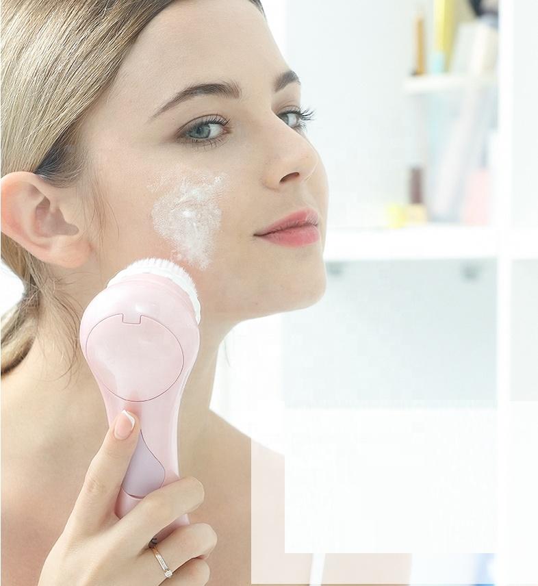 2019 trending mini electric facial cleansing brush electric face brush sale cheap electric cleansing brush for personal care