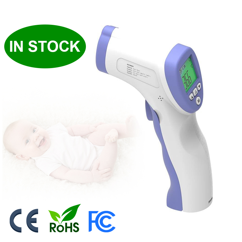 In Stock Non Contact Digital Adult Forehead Infrared Thermometer - KingCare | KingCare.net
