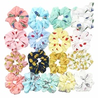 Cactus elastic hair circle Ms hair bands Cloth art sweet Girls Ponytail scrunchie for women